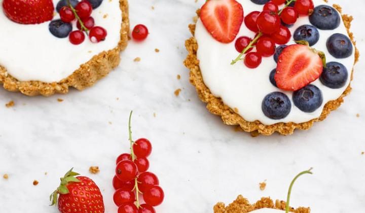 Tartelettes mit Früchten